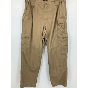 511 Tactical mens 34 pants khaki work uniforms